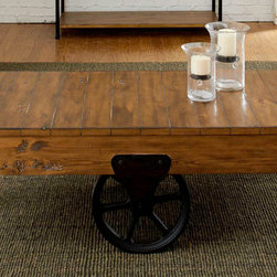 Liberty Furniture - Urban Industrial Cocktail Table -