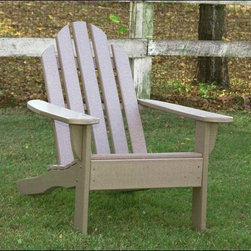 Fifthroom - Poly Lumber Kennebunkport Chair - How much better would you love your furniture if you knew it was positively affecting the environment and was guaranteed was not to crack, chip, peel, rot, rust, or infested by bugs?  A lot?  Good-- It's right here.