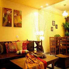 Asian Living Room asian