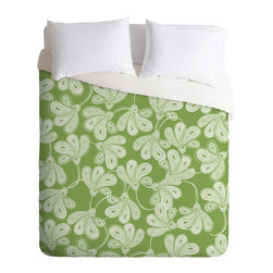 DENY Designs - Khristian A Howell Provencal Thyme Duvet Cover - Turn your basic, boring down comforter into the super stylish focal point of your bedroom. Our Luxe Duvet is made from a heavy-weight luxurious woven polyester with a 50% cotton/50% polyester cream bottom. It also includes a hidden zipper with interior corner ties to secure your comforter. it's comfy, fade-resistant, and custom printed for each and every customer.