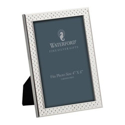"Waterford - Waterford Padova 4"" x 6"" Silver Frame - Waterford Padova 4"" x 6"" Silver Frame"