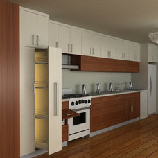 Kitchen Cabinetry by Housing Industry Co., Ltd