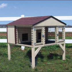 Fifthroom - Dura-Temp Double Rabbit Hutch -
