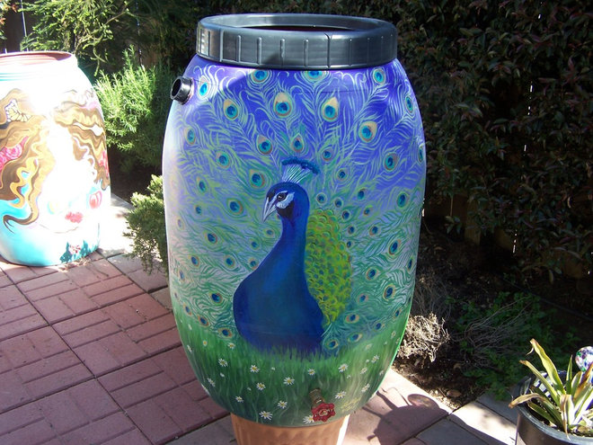by rain barrel artist