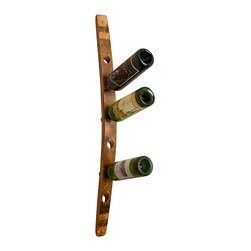 Alpine Wine Design - Wine Barrel Wall Wine Rack 6 - A definite best cellar, this wine rack provides easy access to your collection. The natural curve of the wine barrel stave provides the perfect perch to show off the best sides of all your varietals.