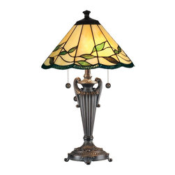 Dale Tiffany - New Dale Tiffany Lamp Bronze Resin Pull - Product Details