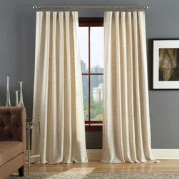 Msg Marketing - Reed Rod Pocket Window Curtain Panels - These versatile, attractive window curtain panels can be used alone or styled with other panels to create a layered, custom appearance. The panels feature a clean, textured pattern and are perfect for a contemporary, traditional or transitional room.