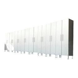 "Ulti-MATE - Ulti-MATE Garage PRO Model GA-068KPC - · 8-36"" wide tall cabinets (GA-06PC)"