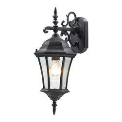 Z Lite - Z Lite 522S-BK Outdoor Wall Light - Z Lite 522S-BK Outdoor Wall Light