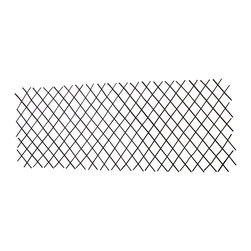 """Master Garden Products - Willow Expandable Trellis Fence, 36""""H x 72""""L - Our expandable willow flex trellis fences are excellent as a divider and climbing vine support. Each segment of our lightweight trellis stretches from roughly 3' to 8' ft long depending on the height of the fence, (the fence becomes shorter as it's stretched longer). Constructed from diagonally attached willow sticks, these fences are extremely durable, so count on them to enhance your garden for many years to come. The height of our standard measurement in our pricing is when the fence expands to 72"""" wide with standard opening of 7"""" measured diagonally. The height may vary depending on the width of your extension in practical use. Diamond openings expand to 3 inches."""