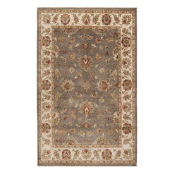 Surya - Surya Estate Rug X-118-66501TSE - Elegantly designed rugs to adorn the most beautiful of homes. The hand spun wool, with a hard twist give a casual yet sophisticated look to these classically designed rugs. The herbal washing of the wool gives the colors an antiqued effect. Hand knotted of 100% New Zealand Wool, these heirloom quality rugs will be admired for years.