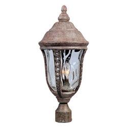 Maxim Lighting - Maxim Lighting 40201WGET Whittier VX 3-Light Outdoor Pole/Post Lantern - Features