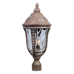 Maxim Lighting - Maxim Lighting 40201WGET Whittier VX 3-Light Outdoor Pole/Post Lantern - Features