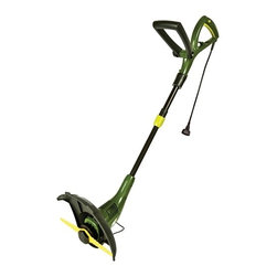 "Snow Joe - Stringless Electric Trimmer - Sun Joe SharperBlade Electric Stringless Trimmer/Edger is ideal for trimming grass and edging along flowerbeds.  2 tools in 1 - Twist-N-Groom 180 degree rotating head converts from trimmer to edger in seconds.  SharperBlade patented trimmer blade provides hassle-free and reliable cutting.  Lightweight (only 5.5 lbs) for easy maneuverability.  Adjustable telescopic shaft and ergonomic handle maximize user comfort.  Powerful 4.5-amp motor cuts a 12.6"" (32 cm) swath.  ETL Approved."