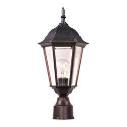 Maxim Lighting - Maxim Lighting 1001EB Westlake Cast 1-Light Outdoor Pole/Post Lantern - Maxim Lighting 1001EB Westlake Cast 1-Light Outdoor Pole/Post Lantern
