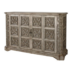 Ambella Home - New Ambella Home Sideboard Carved Medallion - Product Details