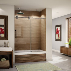 "Fleurco Kinetik In-Line Tub 57""- 60"" Door and Panel KT057"