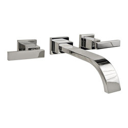 """Newport Brass - Newport Brass 3-2041/26 Polished Chrome Secant Double Handle Wall - Newport Brass Double Handle Wall Mounted Lavatory Faucet with Metal Lever Handles from the Secant CollectionNEWPORT BRASS-Flawless Beauty. From Faucet to Finish- With over 20 years of innovation and design success, Newport Brass decorative plumbing and bath products will satisfy your most intimate desire to transform an everyday kitchen or bath into a room of classic beauty and distinction.General Features :Double Handle Widespread Lavatory FaucetMetal Lever HandlesSolid Brass Construction8"""" CentersSpout Reach is 9-1/2""""High Torque Cartridge includedMUST ORDER VALVE SEPARATELYContemporary StylingFinish Features :Available in 25 Beautiful FinishesNew Industry Leading Lacquer Finish ProcessIAPMO Certified and TestedLong Life Finishes - 10 Year WarrantyDurable, Color Protected, Scratch ResistantGreen, Low VOC, Energy Efficient Finishing ProcessInnovative Design Features :Timeless Design for Contemporary StylesLaminar Flow for Clear, Smooth, Luxurious Water FlowClean Designs - No Visible Set Screws on Handles or Trim PlateHandcrafted Quality Features :Solid Non-Corrosive Forged Brass ComponentsPatented Drip-Free Ceramic ValveHand Polished and InspectedO-Ring Deck Seal Handles for Clean Counter Tops and Easy InstallationEasy Installation Features :Direct Connect Hose System for Leak-Free Easy InstallationEasy Install Valves with Custom Valve Nut that Insures Proper Cartridge Height and Easy InstallCertifications and Compliances :WaterSense CertifiedAB1953 Low Lead Brass Materials CompliantIAPMO, UPC CertifiedADA Compliant"""