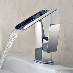 Contemporary Waterfall Bathroom Faucet - SOLD OUT~