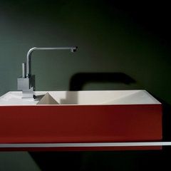 contemporary bathroom sinks by WS Bath Collections