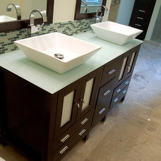 Modern Bathroom Vanities And Sink Consoles by Vanity For Less, LLC