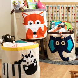 Organizing kids room -