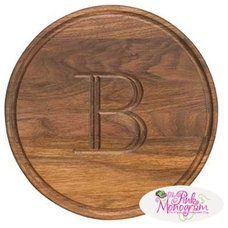traditional cutting boards by The Pink Monogram