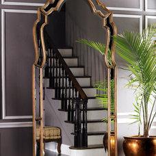 John-Richard Collection Oversized Beveled Mirror - Horchow