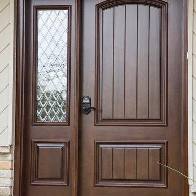 Custom wood doors by Grandeur Doors -