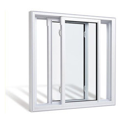 Vinyl Windows - Side Slider Window.