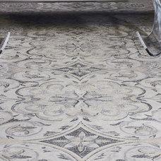 Mediterranean Living Room by NewZeugma Custom Luxury Mosaics and Iznik Tiles