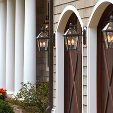 Traditional Outdoor Wall Lights And Sconces by Brass Light Gallery