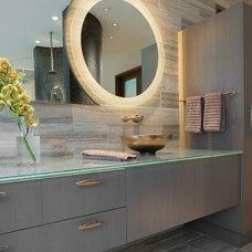 Contemporary Bathroom by Joanie Wyll & Associates, Inc.