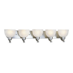 Minka Lavery - Minka Lavery ML 5425 5 Light Bathroom Vanity Light from the Paradox Collection - Five Light Bathroom Vanity Light from the Paradox CollectionFeatures: