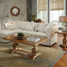 traditional sectional sofas by Post Furniture