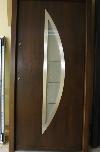 Safety door on pinterest security door modern front for Entrance door design for flats