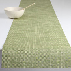 Chilewich - Chilewich Mini Basket Weave Runner - The nice thing about a runner is that it makes a lovely statement on your dining table. And it protects it from spills, candle wax and the like. It's also a great way to cover a buffet table, console or even your backyard picnic table. It's not a stretch to say that a practical, good-looking runner will go the distance for you.