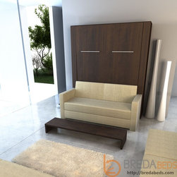 InLine Murphy Bed and InLine Sofa - A sofa and a full Murphy bed? This may be the best option for homes that are extra tight on space.