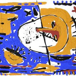Maria Teresa Vieco, Mixed Media Drawing - Artist:  Maria Teresa Vieco, Colombian (1953 - )