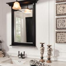 Traditional Bathroom Mirrors by Wellborn Cabinet, Inc.