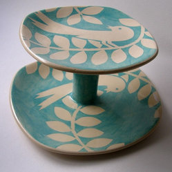 Ken Eardley Bird Cake Stand