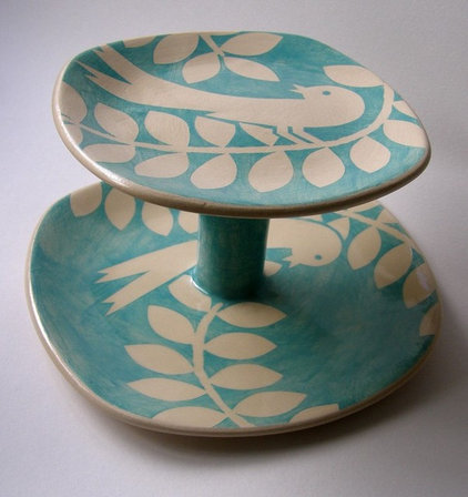 Contemporary Dessert And Cake Stands by Yellow House Art