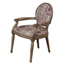 www.essentialsinside.com: bonheur armchair - Bonheur Armchair by Uttermost, available at www.essentialsinside.com