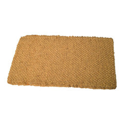 Anchor Brand - Anchor 18-inch x 30-inch Cocoa Mat - Keep your floors cleaner with this durable cocoa mat from Anchor. Made of densely woven fibers,this tan mat is 18' x 30' and is tough and absorbent to hold up to even high foot traffic. The natural look and feel fit in with almost any decor.