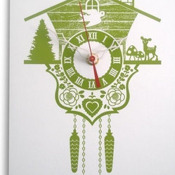 Decoylab Lime Cuckoo Clock