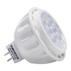 TorchStar - AC/DC 12V 7W MR16 LED Bulb Spotlight 50W Equivalent GU5.3 Base 36 degree beam, W - Overview