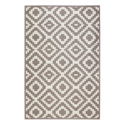 Home Decorators Collection - Kilim Area Rug - Handcrafted of polyester acrylic, our versatile Kilim Area Rug boasts all-weather durability and easy clean-up. It's hand hooked and will look good indoors or out. For a room with a neutral color palette or minimalist design, try adding the lively pattern of this rug to complete your decor. Made of 100% polyester acrylic. Part of the Indoor/Outdoor Collection.