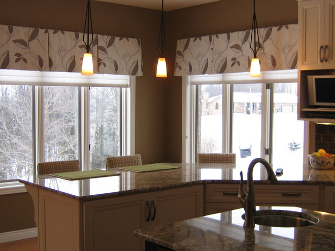 Traditional Curtains by Karen's Custom  Decorating