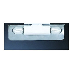 WAC Lighting - WAC Lighting SBH-102 Linear System Track Heads - Double Lamp holder for xenon wedge base bulbs. Anodized adjustable aluminum reflector maximizes the light output.