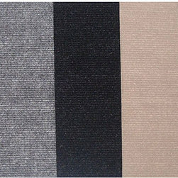 None - Do It Yourself Carpet Tiles (36 Square Feet) - Be the master of your home improvements with these do-it-yourself carpet tiles. These tiles feature a simple peel-and-stick process with self-adhesive backing so that installation is a snap,and the colors are made to be mixed and matched.